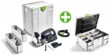 Čapovacia frézka Festool DF 700 EQ-Plus + sada DOMINO 574320+201353