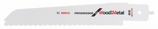 Bosch Pílový list do chvostovej píly M 3456 XF pre multipílu Bosch PFZ 500 E Progressor for Wood and Metal 1ks 2608656931