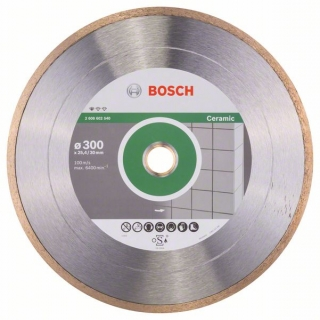 Bosch Diamantový rezací kotúč Standard for Ceramic 300 x 30+25,40 x 2 x 7 mm 1ks 2608602540