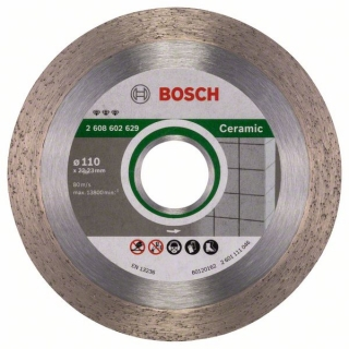 Bosch Diamantový rezací kotúč Best for Ceramic 110 x 22,23 x 1,8 x 10 mm 1ks 2608602629