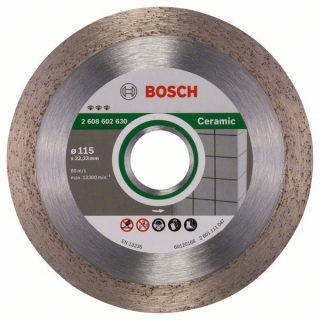 Bosch Diamantový rezací kotúč Best for Ceramic 115 x 22,23 x 1,8 x 10 mm 1ks 2608602630