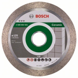 Bosch Diamantový rezací kotúč Best for Ceramic 125 x 22,23 x 1,8 x 10 mm 1ks 2608602631