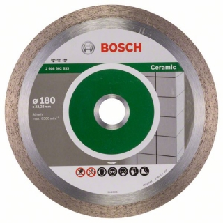 Bosch Diamantový rezací kotúč Best for Ceramic 180 x 22,23 x 2,2 x 10 mm 1ks 2608602633