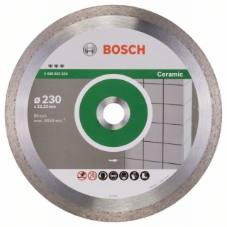 Bosch Diamantový rezací kotúč Best for Ceramic 230 x 22,23 x 2,4 x 10 mm 1ks 2608602634