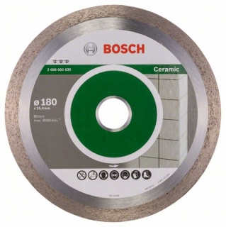 Bosch Diamantový rezací kotúč Best for Ceramic 180 x 25,40 x 2,2 x 10 mm 1ks 2608602635