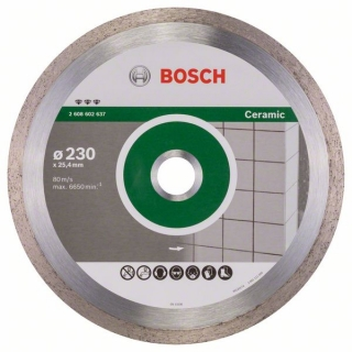 Bosch Diamantový rezací kotúč Best for Ceramic 230 x 25,40 x 2,4 x 10 mm 1ks 2608602637