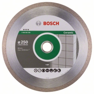 Bosch Diamantový rezací kotúč Best for Ceramic 250 x 30/25,40 x 2,4 x 10 mm 1ks 2608602638