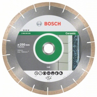 Bosch Diamantový rezací kotúč Best for Ceramic and Stone 250 x 25,40 x 1,8 x 10 mm 1ks 2608603601