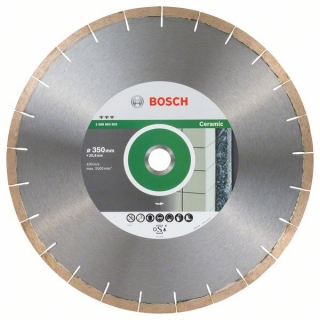Bosch Diamantový rezací kotúč Best for Ceramic and Stone 350 x 25,40 x 1,8 x 10 mm 1ks 2608603603