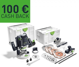 Horná frézka Festool OF 2200 EB-Set 574392