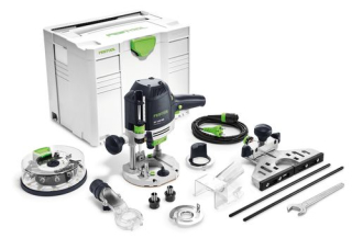 Horná frézka Festool OF 1400 EBQ-Plus + Box-OF-S 8/10x HW 574398