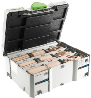 Sortiment DOMINO XL - buk Festool DS/XL D8/D10 306x BU 498204