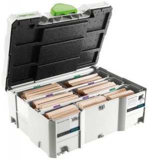 Sortiment DOMINO XL - buk Festool DS/XL D12/D14 128x BU 498205